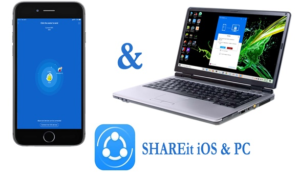 shareit for pc to ios